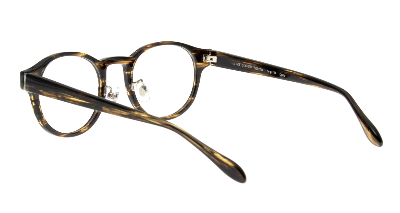 Oh My Glasses TOKYO Doris omg-114-BRB-48 [鯖江産/丸メガネ/茶色]  3