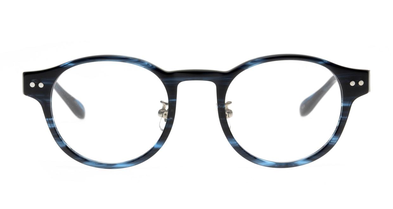 Oh My Glasses TOKYO Doris omg-114-BLB-48 [鯖江産/丸メガネ/青]