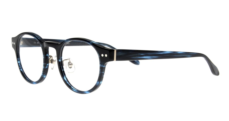 Oh My Glasses TOKYO Doris omg-114-BLB-48 [鯖江産/丸メガネ/青]  1