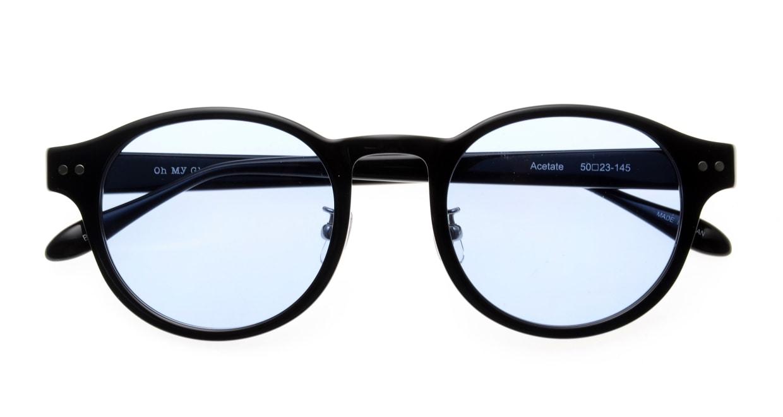 Oh My Glasses TOKYO omg-114sg Doris-BK-50 [鯖江産/ボストン]  4