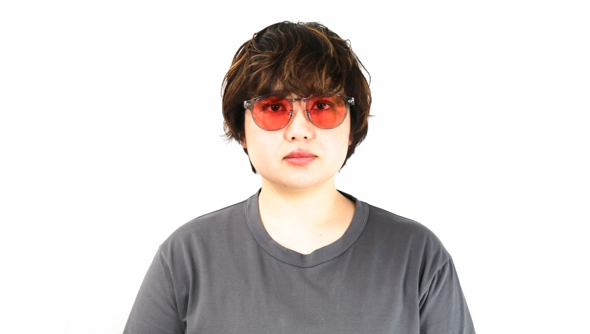 Oh My Glasses TOKYO omg-114sg Doris-GRY-50 [鯖江産/ボストン]  7