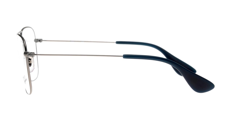 レイバン 0RX3610V-2502-58 [メタル/ウェリントン/シルバー]  2