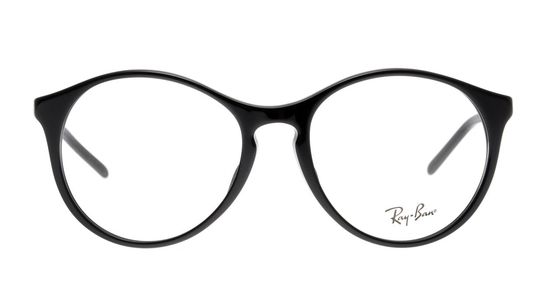 レイバン 0RX5371F-2000-53 [黒縁/丸メガネ]