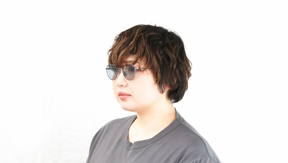 Oh My Glasses TOKYO Barry omg105-ATS-46-sun [メタル/鯖江産/ボストン]  8