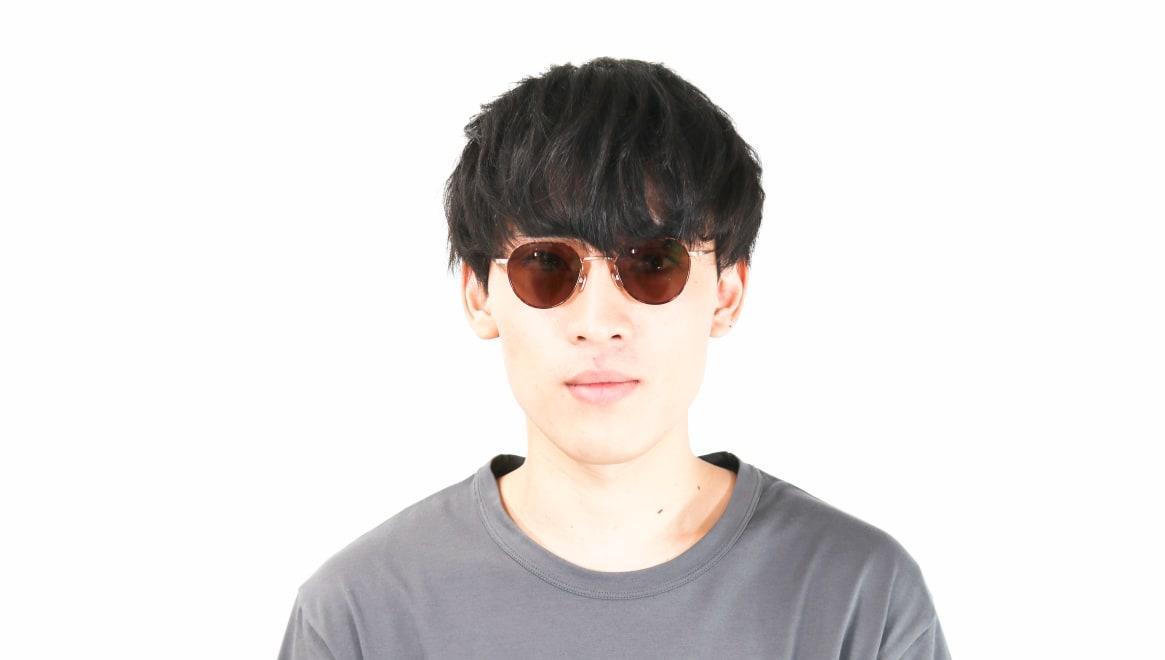 Oh My Glasses TOKYO Barry omg105-DM-46-sun [メタル/鯖江産/ボストン]  5