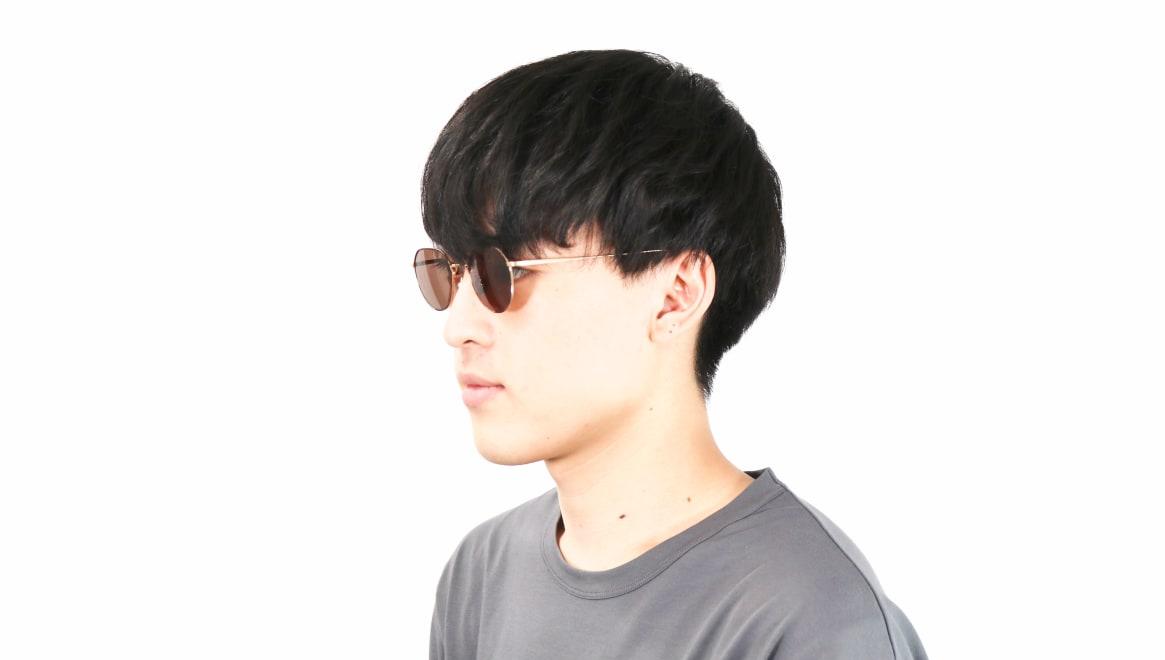 Oh My Glasses TOKYO Barry omg105-DM-46-sun [メタル/鯖江産/ボストン]  6