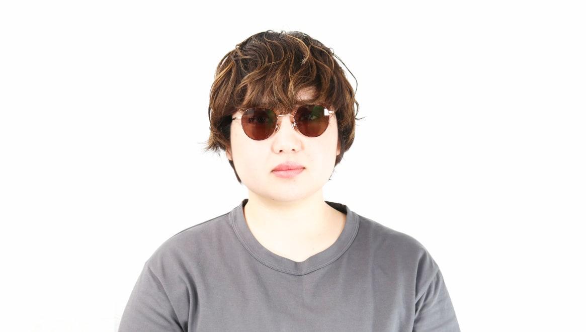 Oh My Glasses TOKYO Barry omg105-DM-46-sun [メタル/鯖江産/ボストン]  7