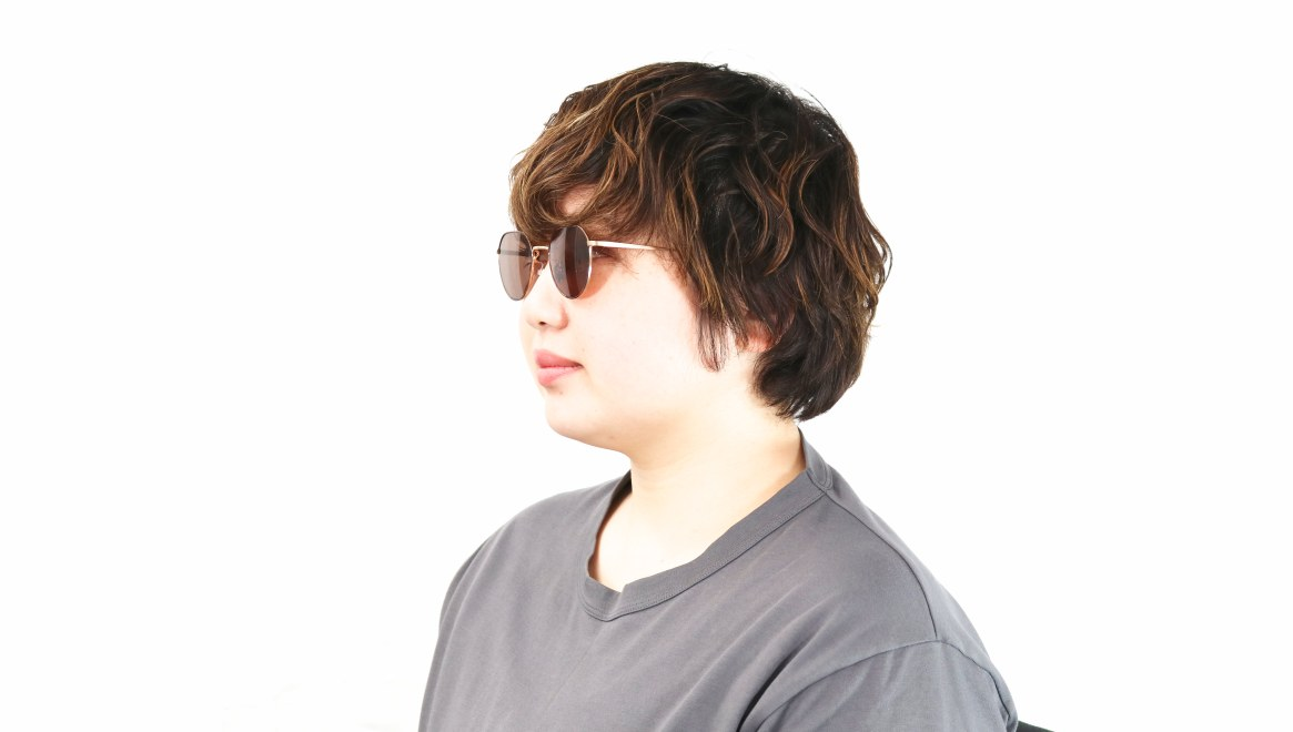 Oh My Glasses TOKYO Barry omg105-DM-46-sun [メタル/鯖江産/ボストン]  8