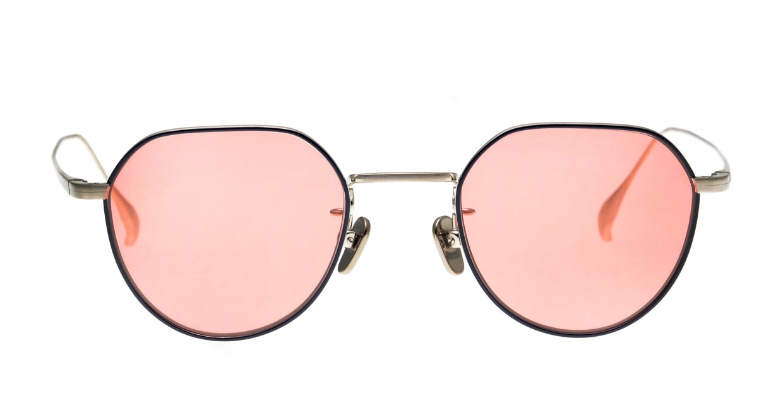 Oh My Glasses TOKYO Barry omg105-NV-46-sun [メタル/鯖江産/ボストン]