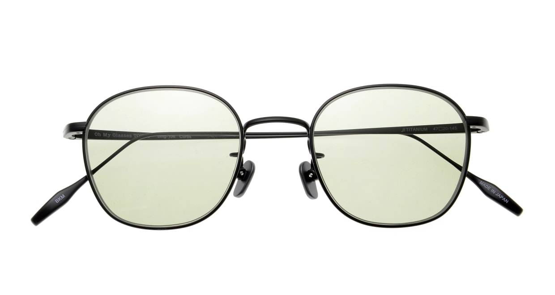 Oh My Glasses TOKYO Curtis omg106-BKM-47-sun [メタル/鯖江産/ボストン]  4