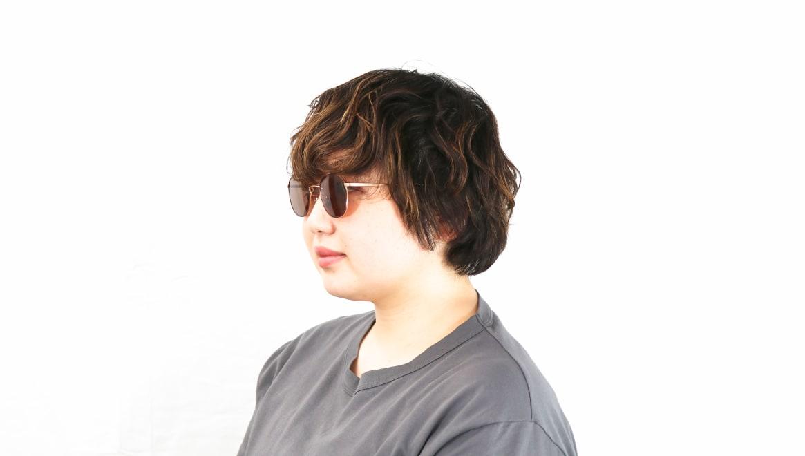 Oh My Glasses TOKYO Curtis omg106-DM-47-sun [メタル/鯖江産/ボストン]  8