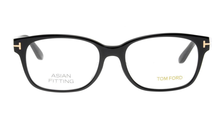 トムフォード FT5406F AsianFit-001-55 [黒縁/ウェリントン]