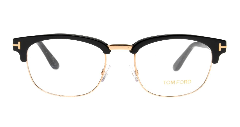 トムフォード FT5458-001-51 [黒縁/ウェリントン]