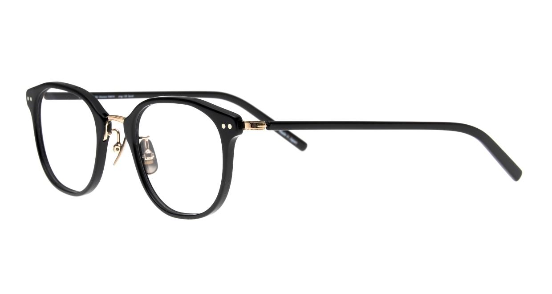 seem Oh My Glasses TOKYO Sarah omg-120-BKG-48 [黒縁/鯖江産/ウェリントン]