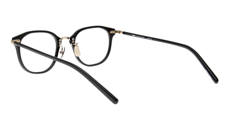 seem Oh My Glasses TOKYO Sarah omg-120-BKG-48 [黒縁/鯖江産/ウェリントン]  2