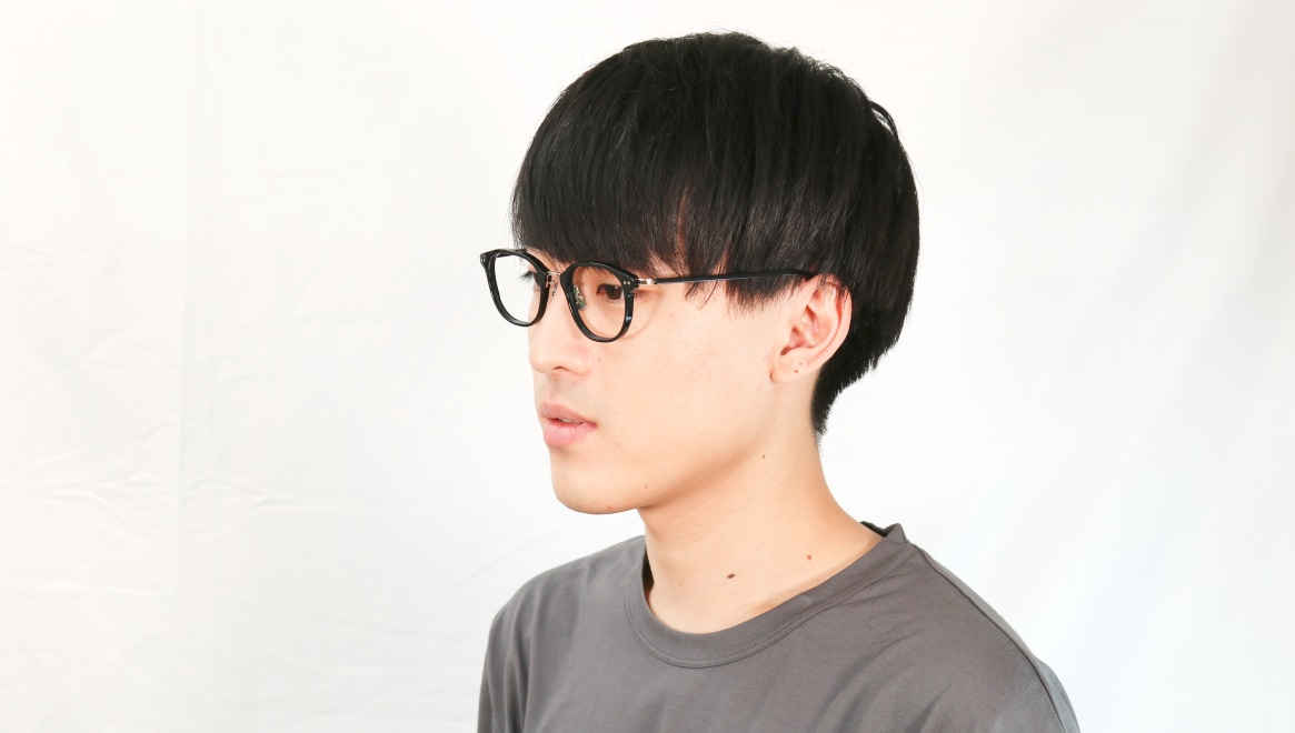 seem Oh My Glasses TOKYO Sarah omg-120-BKG-48 [黒縁/鯖江産/ウェリントン]  5