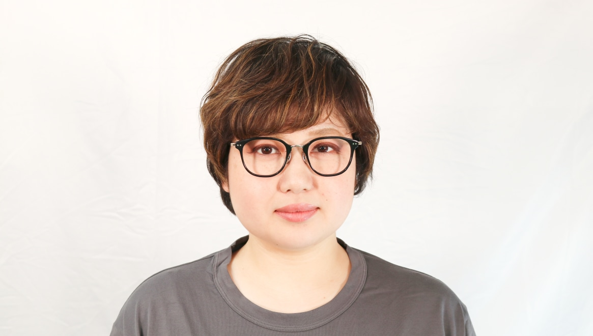 seem Oh My Glasses TOKYO Sarah omg-120-BKG-48 [黒縁/鯖江産/ウェリントン]  6