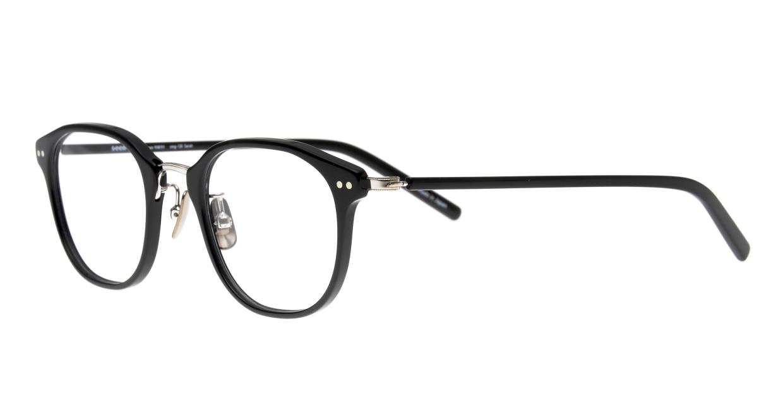 seem Oh My Glasses TOKYO Sarah omg-120-BKS-48 [黒縁/鯖江産/ウェリントン]  1