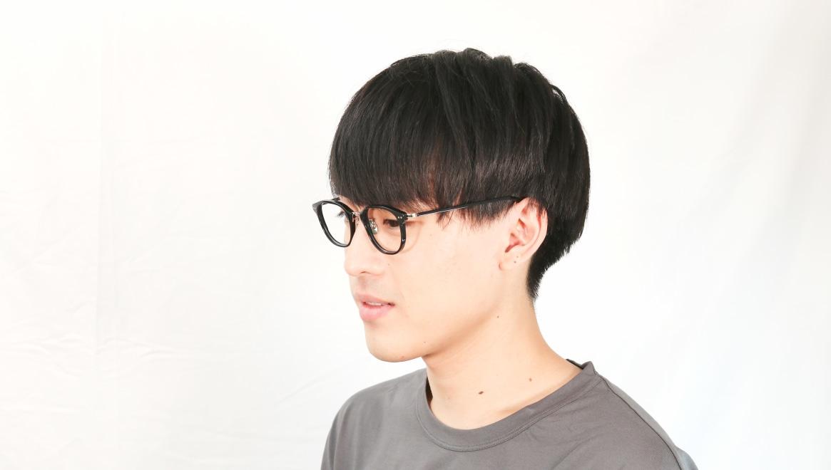 seem Oh My Glasses TOKYO Sarah omg-120-BKS-48 [黒縁/鯖江産/ウェリントン]  6