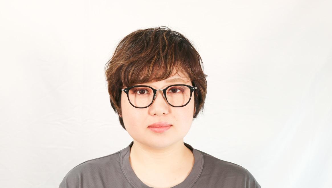 seem Oh My Glasses TOKYO Sarah omg-120-BKS-48 [黒縁/鯖江産/ウェリントン]  7