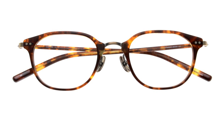 seem Oh My Glasses TOKYO Sarah omg-120-DM-48 [鯖江産/ウェリントン/べっ甲柄]  4