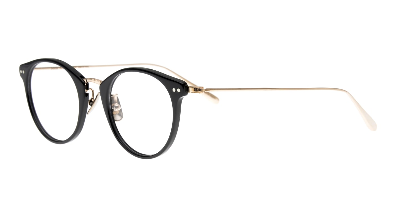 seem Oh My Glasses TOKYO Nina omg-121-BKG-47 [黒縁/鯖江産/丸メガネ]  1