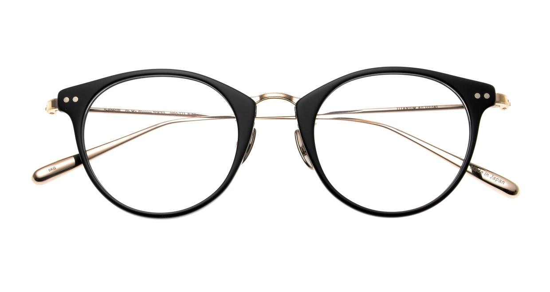 seem Oh My Glasses TOKYO Nina omg-121-BKG-47 [黒縁/鯖江産/丸メガネ]  4