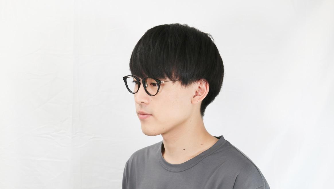 seem Oh My Glasses TOKYO Nina omg-121-BKG-47 [黒縁/鯖江産/丸メガネ]  6