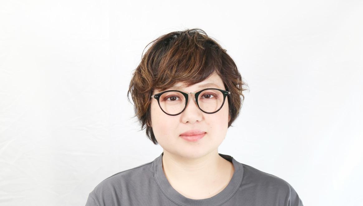 seem Oh My Glasses TOKYO Nina omg-121-BKG-47 [黒縁/鯖江産/丸メガネ]  7