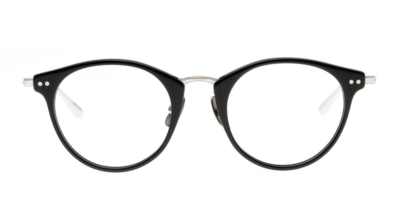 seem Oh My Glasses TOKYO Nina omg-121-BKS-47 [黒縁/鯖江産/丸メガネ]