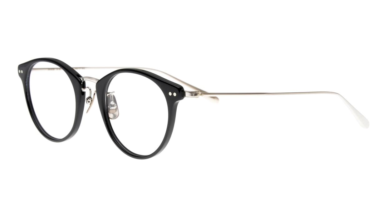 seem Oh My Glasses TOKYO Nina omg-121-BKS-47 [黒縁/鯖江産/丸メガネ]  1