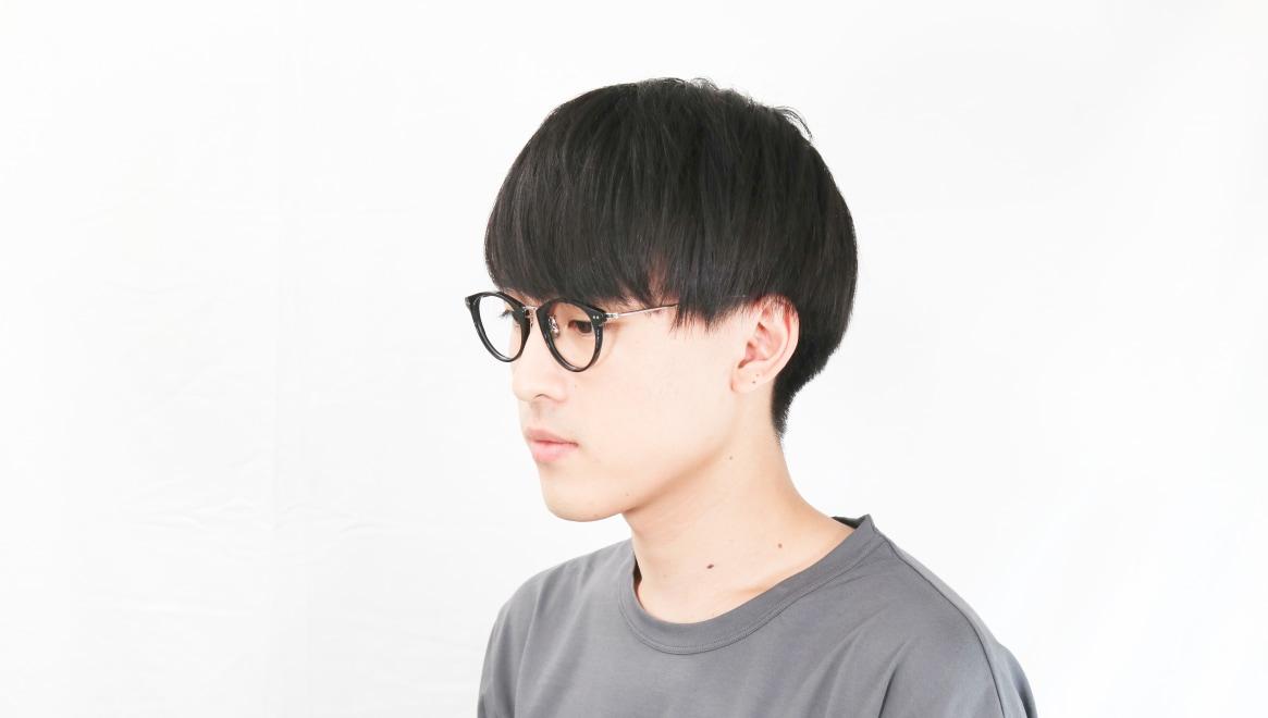 seem Oh My Glasses TOKYO Nina omg-121-BKS-47 [黒縁/鯖江産/丸メガネ]  6