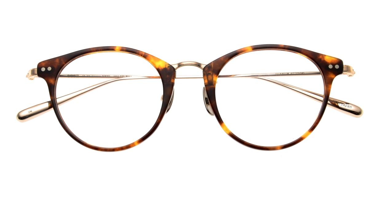 seem Oh My Glasses TOKYO Nina omg-121-DM-47 [鯖江産/丸メガネ/べっ甲柄]  4