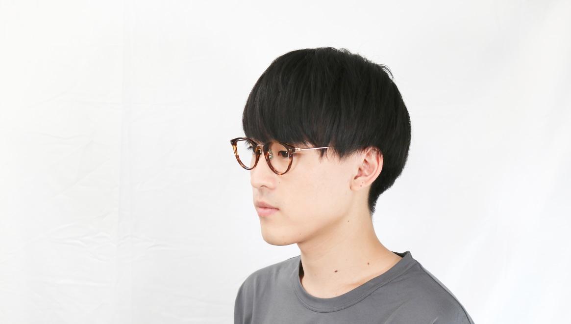 seem Oh My Glasses TOKYO Nina omg-121-DM-47 [鯖江産/丸メガネ/べっ甲柄]  6