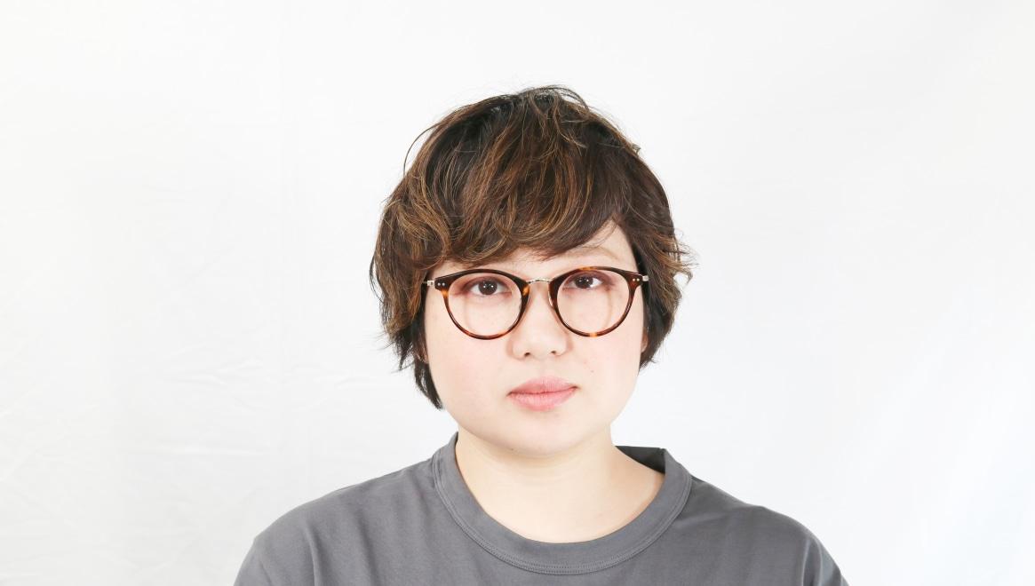 seem Oh My Glasses TOKYO Nina omg-121-DM-47 [鯖江産/丸メガネ/べっ甲柄]  7
