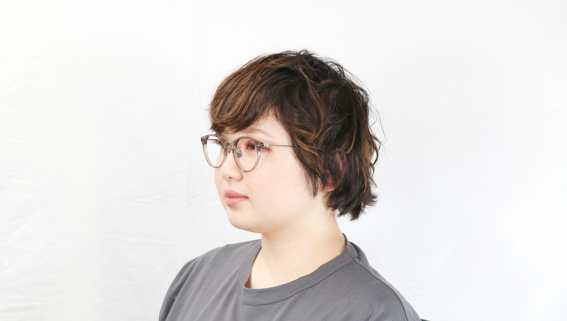 seem Oh My Glasses TOKYO Nina omg-121-GRY-47 [鯖江産/丸メガネ/緑]  8