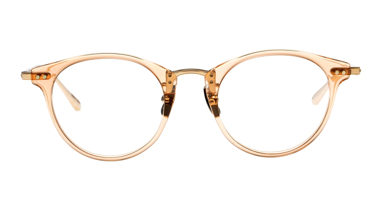 seem Oh My Glasses TOKYO Nina omg-121-BR-47 [鯖江産/丸メガネ/ピンク]