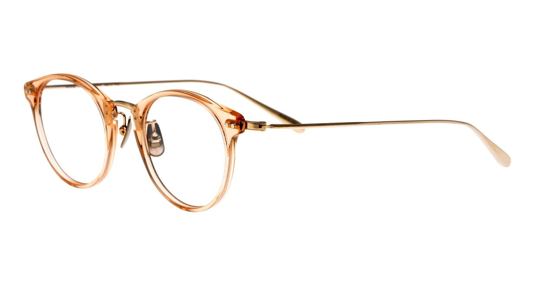 seem Oh My Glasses TOKYO Nina omg-121-BR-47 [鯖江産/丸メガネ/ピンク]  1