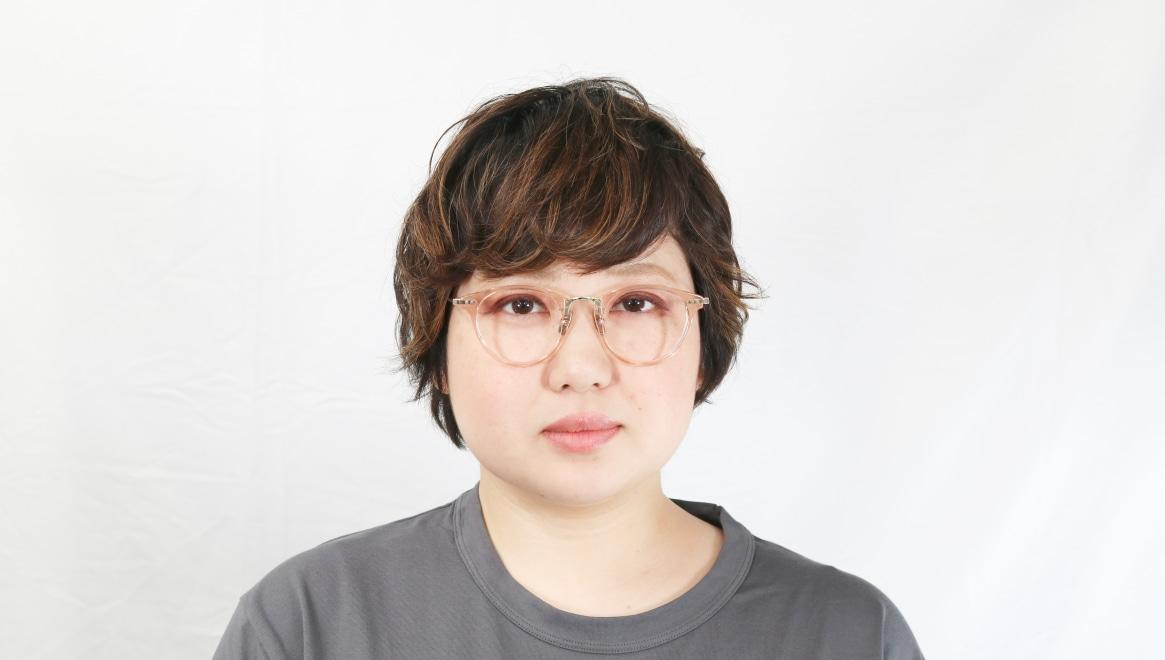 seem Oh My Glasses TOKYO Nina omg-121-BR-47 [鯖江産/丸メガネ/ピンク]  7