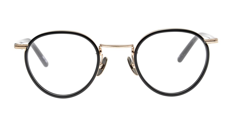 Oh My Glasses TOKYO Dexter omg-122-BKG-47 [黒縁/鯖江産/丸メガネ]