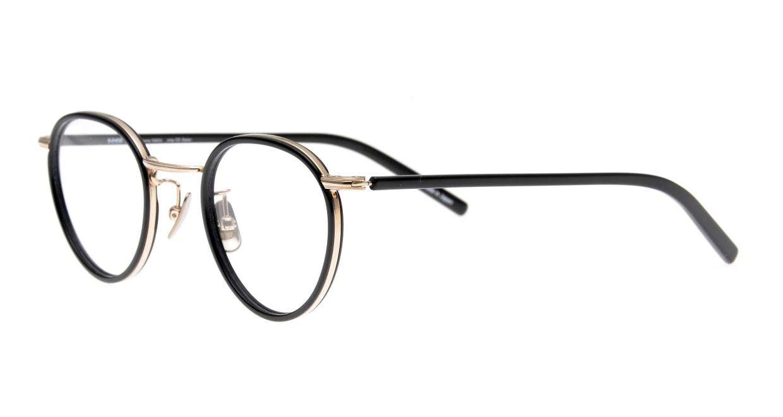 Oh My Glasses TOKYO Dexter omg-122-BKG-47 [黒縁/鯖江産/丸メガネ]  1