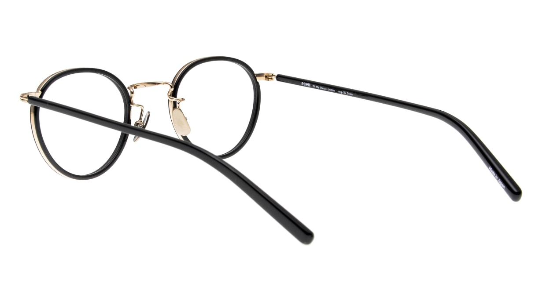 Oh My Glasses TOKYO Dexter omg-122-BKG-47 [黒縁/鯖江産/丸メガネ]  3