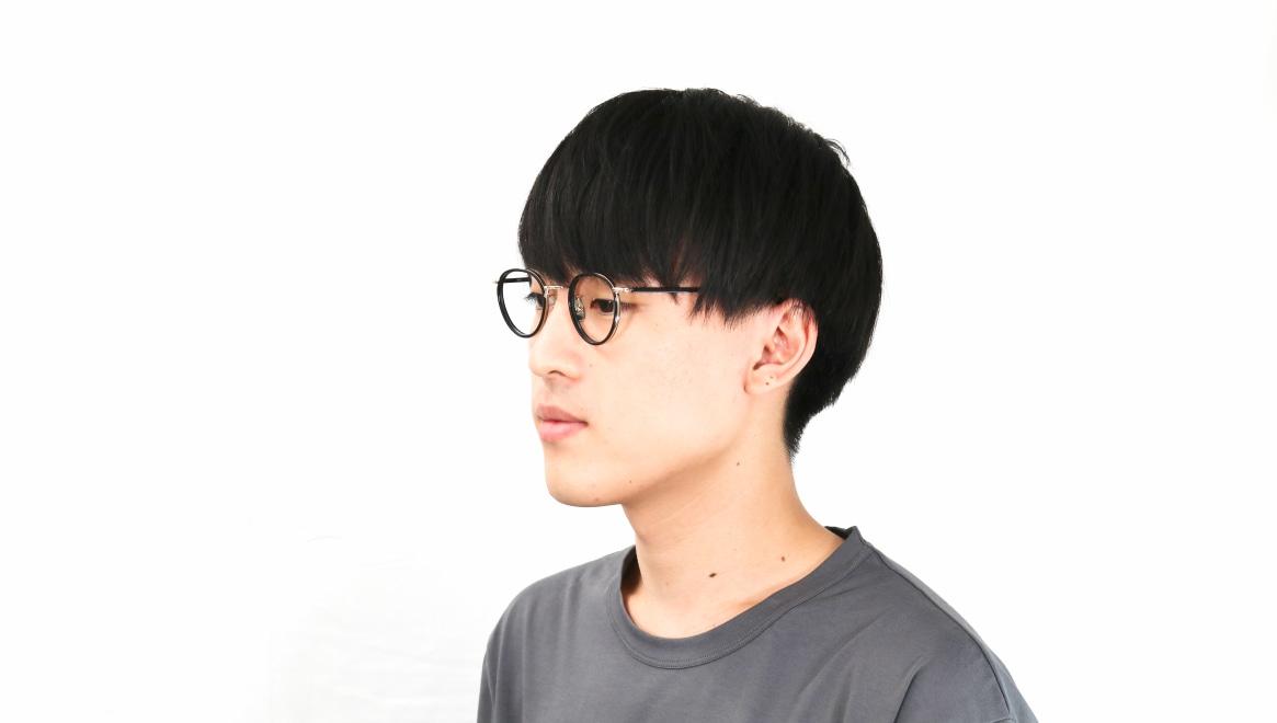 seem Oh My Glasses TOKYO Dexter omg-122-BKG-47 [黒縁/鯖江産/丸メガネ]  6