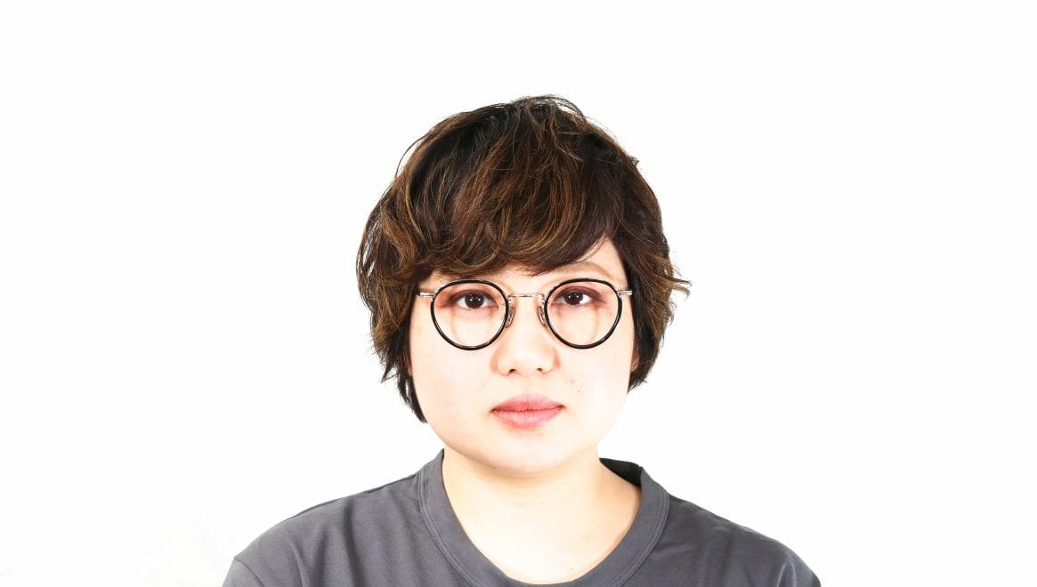 seem Oh My Glasses TOKYO Dexter omg-122-BKG-47 [黒縁/鯖江産/丸メガネ]  7