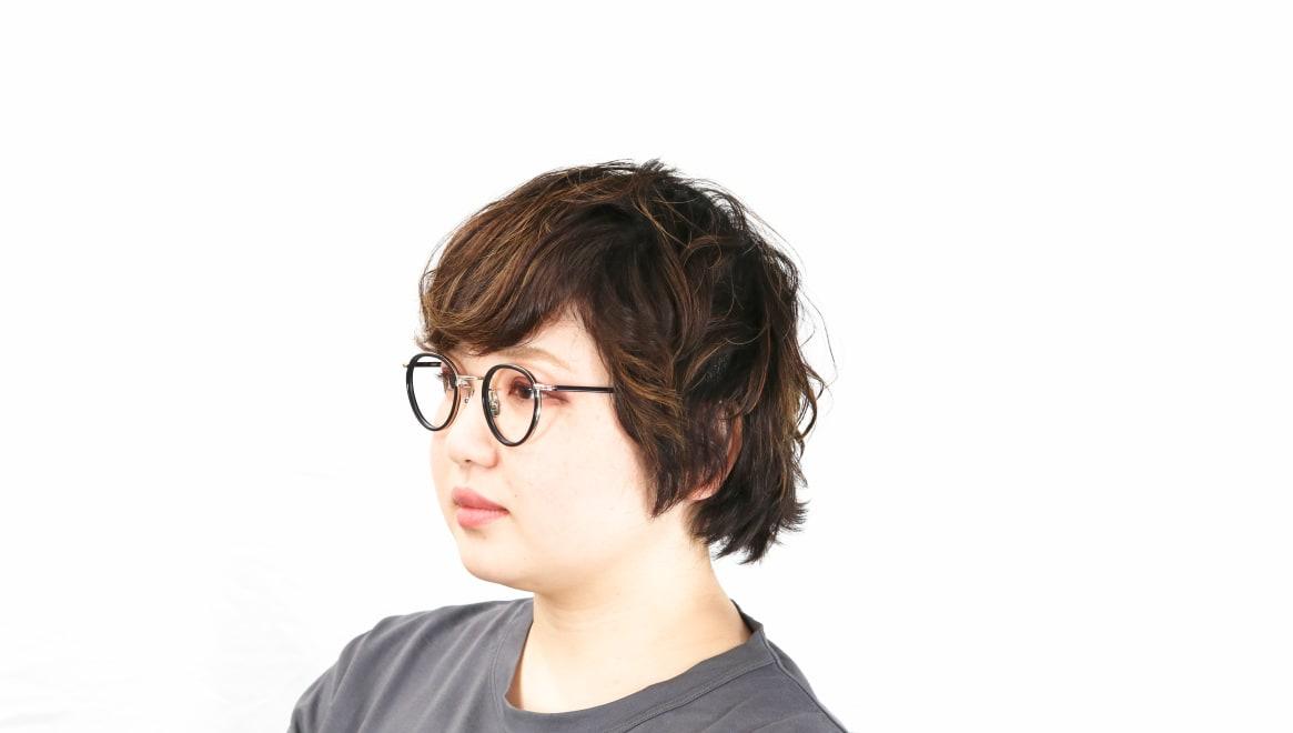seem Oh My Glasses TOKYO Dexter omg-122-BKG-47 [黒縁/鯖江産/丸メガネ]  8