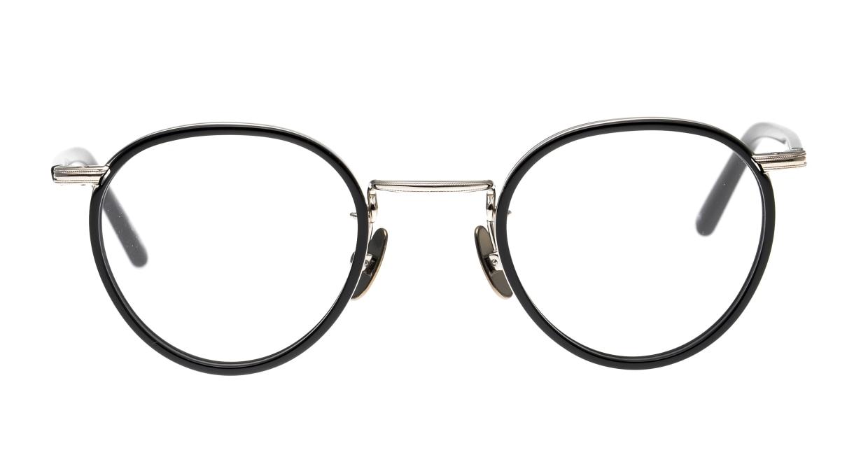 Oh My Glasses TOKYO Dexter omg-122-BKS-47 [黒縁/鯖江産/丸メガネ]