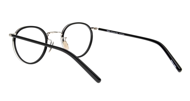 Oh My Glasses TOKYO Dexter omg-122-BKS-47 [黒縁/鯖江産/丸メガネ]  3