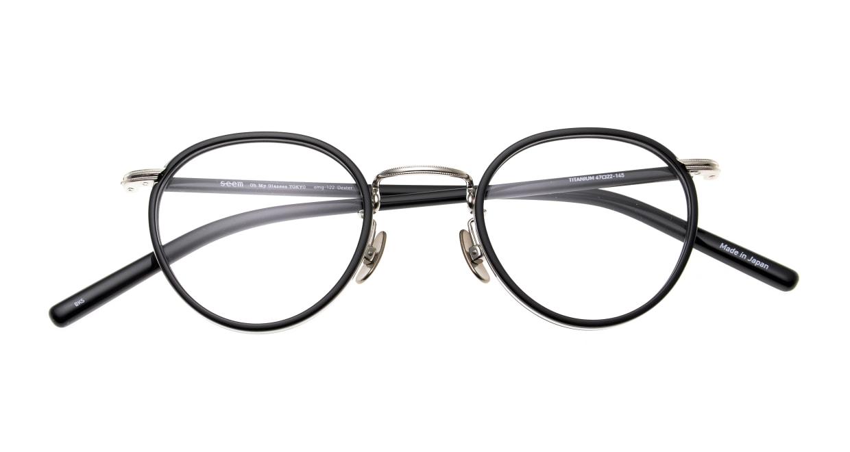 Oh My Glasses TOKYO Dexter omg-122-BKS-47 [黒縁/鯖江産/丸メガネ]  4