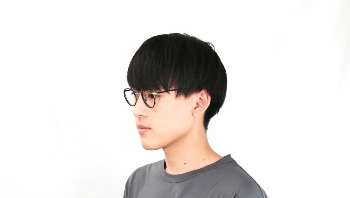 seem Oh My Glasses TOKYO Dexter omg-122-BKS-47 [黒縁/鯖江産/丸メガネ]  6
