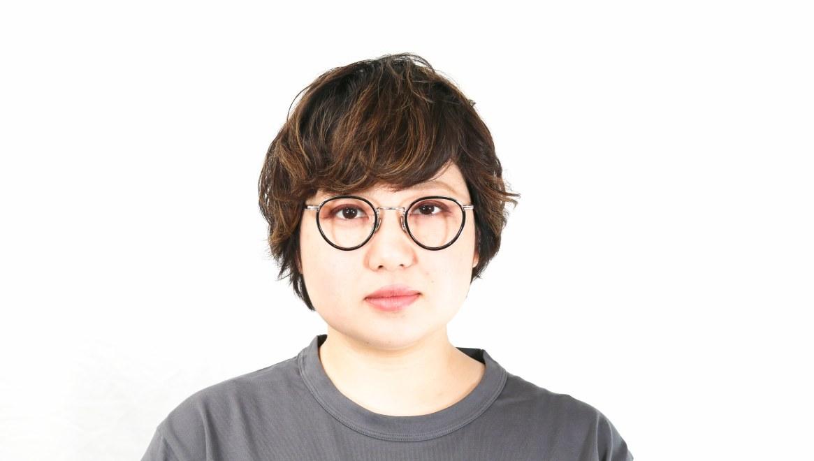 seem Oh My Glasses TOKYO Dexter omg-122-BKS-47 [黒縁/鯖江産/丸メガネ]  7